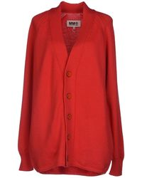 Mm6 By Maison Martin Margiela Cardigan - Lyst
