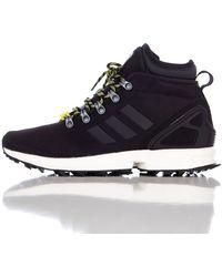 Adidas | Zx Flux Ballistic Mesh Winter Boot In Black | Lyst
