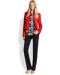 Akris Punto Wool & Angora Zip-Front Jacket - Lyst