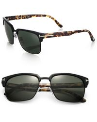 Tom Ford River Printed Sunglasses - Lyst
