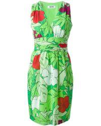 Moschino Cheap & Chic Sleeveless Printed Dress - Lyst