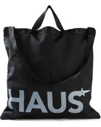 Haus By Golden Goose Deluxe Brand - Logo Print Shopping Bag - Lyst