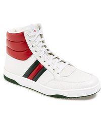 Gucci 'Ronnie' High-Top Sneaker - Lyst