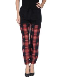 Lulu & Co Casual Trouser - Lyst