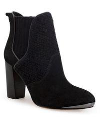 Elliott Lucca Dina High-Heel Leather Boots - Lyst