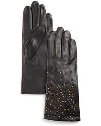 Pink Pony - Lauren Embellished Gloves - Lyst