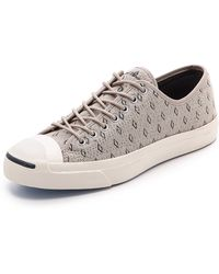 Converse Jack Purcell Woven Jack Sneakers - Lyst