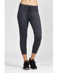 Beyond Yoga | Cloud Heather Relaxed Sweatpant | Lyst
