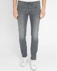 G-Star RAW | Grey 3301 Slim-fit Jeans | Lyst