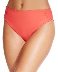 Inc International Concepts Ruched Hipster Bikini Bottom - Lyst