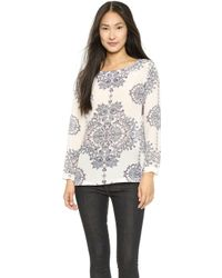 Club Monaco Marjory Top  Ironworks Lace - Lyst