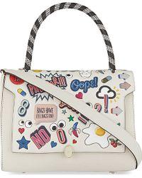 Anya Hindmarch Bathurst Small Sticker Satchel Bag - For Women - Lyst