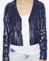 Dress Gallery - New Orleans Sequin Blazer - Lyst