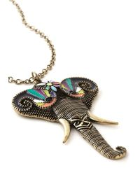 Muchtoomuch Ele-Fancy Necklace - Lyst