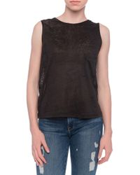 Minden Chan Patch Tank - Lyst