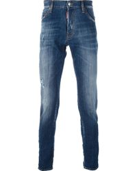 DSquared2 B Distressed Jean - Lyst