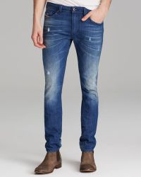 Diesel Jeans Thavar Straight Fit in Denim - Lyst