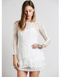 Free People Angel Kisses Dress - White