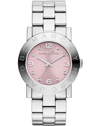 Marc By Marc Jacobs Womens Amy Stainless Steel Bracelet Watch 36mm - Lyst