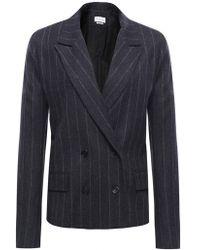 Isabel Marant Huxley Pinstripe Jacket - Lyst