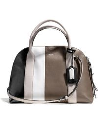 Coach Bleecker Preston Satchel in Colorblock Leather - Lyst