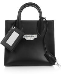 Balenciaga Nude Mini All Afternoon Leather Shoulder Bag - Lyst
