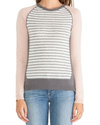Loma Andie Cashmere Stripe Sweater - Lyst