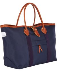 Nanamica Twill Large Tote - Lyst
