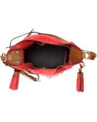 Burberry Brit - Belgrove Fringed Leather Bucket Bag - Lyst