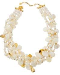 Jose & Maria Barrera Burgundy Crystal Pendant Necklace BnUgl2xXf
