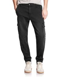 Joe's Jeans Cargo Jogger Pants black - Lyst