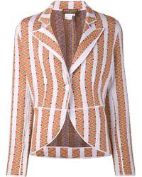 Duro Olowu - Striped Knit Blazer - Lyst