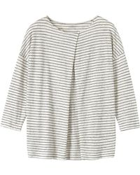 Toast - Pleat Front T-Shirt - Lyst