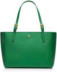 Tory Burch York Small Buckle Tote - Lyst