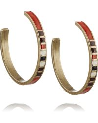 Isabel Marant Blondie Enamel Earrings - Lyst