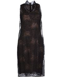 Vera Wang Knee-Length Dress - Lyst