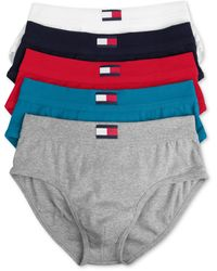 Tommy Hilfiger Mens Brief 5 Pack - Lyst