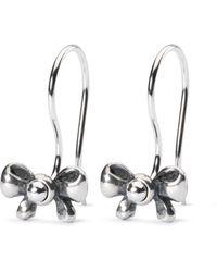 Trollbeads - Bow Earrings - Lyst