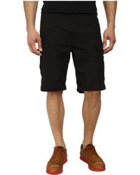 G-Star RAW Recroft Tapered 1/2 Short black - Lyst