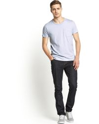 French connection Mens One Pocket Tshirt - Lyst
