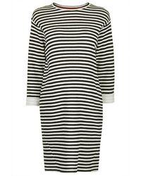 Topshop Maternity Striped Jersey Sweat - Lyst