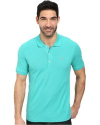 Lacoste Premium Short Sleeve Slim Fit Stretch Pique Polo Shirt - Lyst
