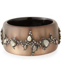 Alexis Bittar Crystal-Embellished Cuff Bracelet - Lyst