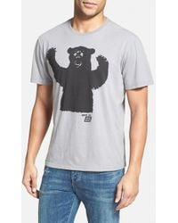 Ames Bros - 'big Bear' Graphic T-shirt - Lyst