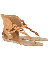 Ancient Greek Sandals Xenia Winged Sandal beige - Lyst