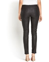 Not Your Daughter's Jeans High Waisted Faux Leather Slimming Jeans - Lyst