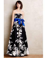 Eliza J Iberis Strapless Dress - Lyst