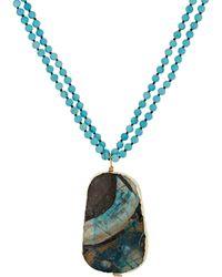 Sonya Renee Jewelry - Women's Alex Pendant Necklace - Lyst
