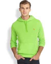 Polo Ralph Lauren Atlantic Terry Hooded Pullover - Lyst