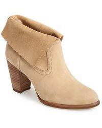 Ugg 'Thames' Foldover Cuff Boot brown - Lyst